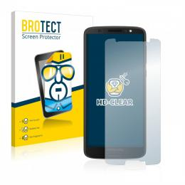 2x BROTECTHD-Clear Screen Protector Motorola Moto G6