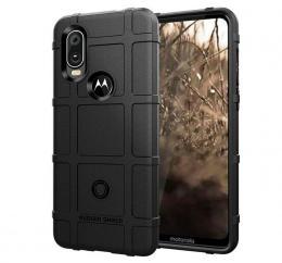 Pouzdro RUGGED Motorola One Vision èerné