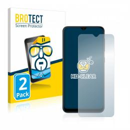 2x BROTECTHD-Clear Screen Protector Samsung Galaxy A10