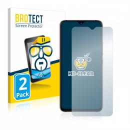 2x BROTECTHD-Clear Screen Protector Umidigi S3 Pro