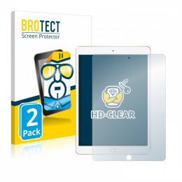 2x BROTECTHD-Clear Screen Protector Apple iPad 10.2 2019