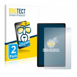 2x BROTECTHD-Clear Screen Protector Samsung Galaxy Tab S6 T860