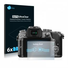 6x SU75 UltraClear Screen Protector Panasonic Lumix DMC-G70