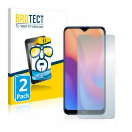 2x BROTECTHD-Clear Screen Protector Xiaomi Redmi 8A