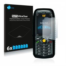 6x SU75 UltraClear Screen Protector Caterpillar Cat B25