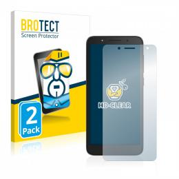 2x BROTECTHD-Clear Screen Protector Alcatel 1C 2019
