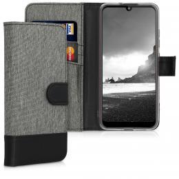 Pouzdro pro Motorola Moto E6 Plus šedé