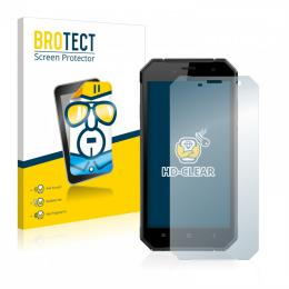 2x BROTECTHD-Clear Screen Protector Nomu S30