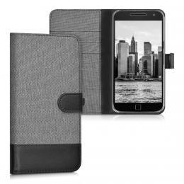 Pouzdro pro Motorola Moto G4 Plus šedé
