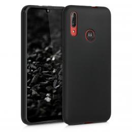 Pouzdro GEL pro Motorola Moto E6 Plus èerné
