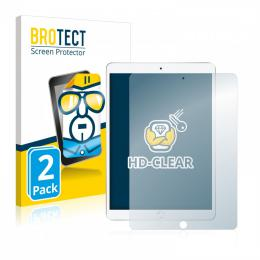 2x BROTECTHD-Clear Screen Protector Apple iPad Air 2019