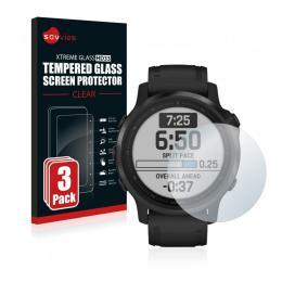 3x tvrzené sklo Tempered Glass HD33 Garmin Fenix 6S (42 mm)