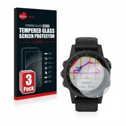 3x tvrzené sklo Tempered Glass HD33 Garmin fenix 5S Plus (42 mm)