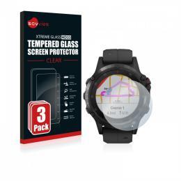 3x tvrzené sklo Tempered Glass HD33 Garmin fenix 5 Plus (47 mm)