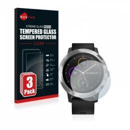 3x tvrzené sklo Tempered Glass HD33 Garmin Vivoactive 3
