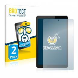 2x BROTECTHD-Clear Screen Protector Lenovo Tab M8
