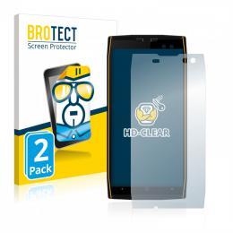 2x BROTECTHD-Clear Screen Protector Doogee S50