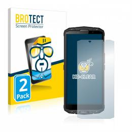 2x BROTECTHD-Clear Screen Protector Evolveo Strongphone G7