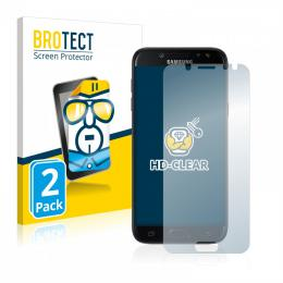 2x BROTECTHD-Clear Screen Protector Samsung Galaxy J5 (2017)