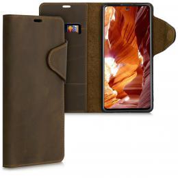 Pouzdro LUX Samsung Galaxy A71 hnìdé