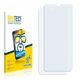 2x BROTECTHD-Clear Screen Protector Motorola Moto G8 Power Lite
