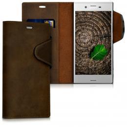 Pouzdro LUX pro Sony Xperia XZ hnìdé