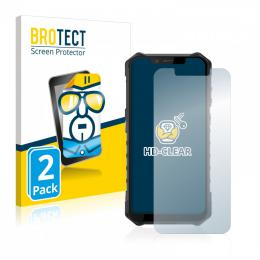 2x BROTECTHD-Clear Screen Protector Ulefone Armor 6E