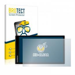 2x BROTECTHD-Clear Screen Protector Garmin DriveSmart 61 LMT-S