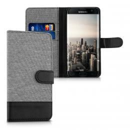 Pouzdro pro Samsung Galaxy S7 Edge šedé