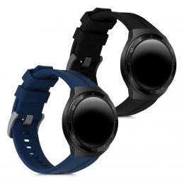 Náhradní øemínky pro Huawei Watch GT 2e èerný / modrý