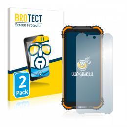2x BROTECTHD-Clear Screen Protector Doogee S58 Pro