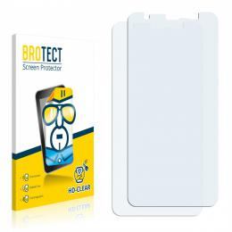 2x BROTECTHD-Clear Screen Protector Blackview BV6300 Pro