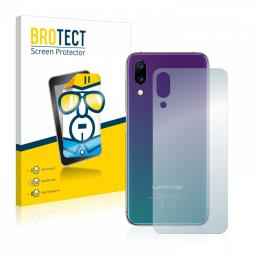 2x BROTECTHD-Clear Screen Protector Umidigi One záda