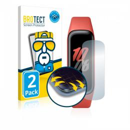 2x BROTECT Flex Full-Cover Protector Samsung Galaxy Fit2