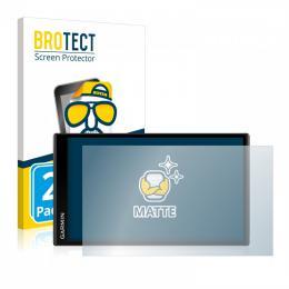 2x BROTECTHD-Matte Screen Protector Garmin DriveSmart 61 LMT-D