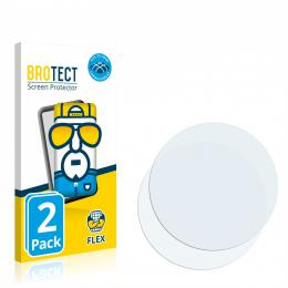 2x BROTECT Flex Full-Cover Protector Ticwatch Pro 3 GPS