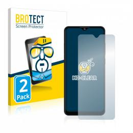 2x BROTECTHD-Clear Screen Protector ZTE Blade A7s 2020