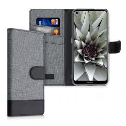 Pouzdro pro Nokia 3.4 šedé