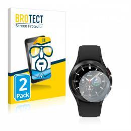2x BROTECTHD-Clear Screen Protector Samsung Galaxy Watch 4 Classic (42mm)