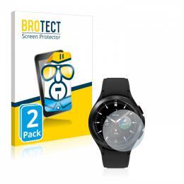 2x BROTECTHD-Clear Screen Protector Samsung Galaxy Watch 4 Classic (46mm)