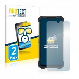 2x BROTECTHD-Clear Screen Protector Doogee S88 Plus