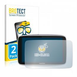 2x BROTECTHD-Clear Screen Protector TomTom GO Premium X
