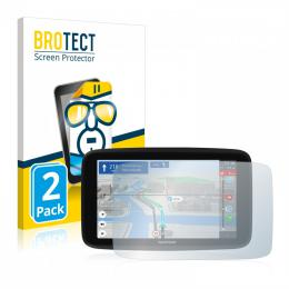 2x BROTECTHD-Clear Screen Protector TomTom GO Discover 7