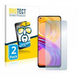 2x BROTECTHD-Clear Screen Protector Realme 8