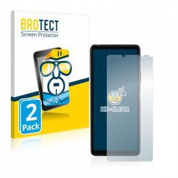 2x BROTECTHD-Clear Screen Protector Sony Xperia 10 III