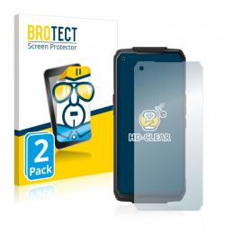 2x BROTECTHD-Clear Screen Protector Oukitel WP7