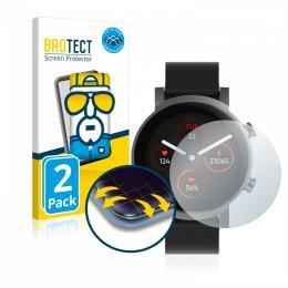 2x BROTECT Flex Full-Cover Protector TicWatch E3