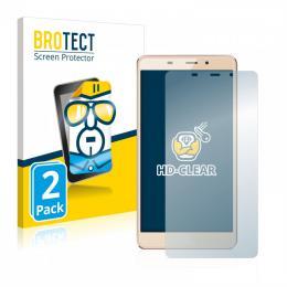 2x BROTECTHD-Clear Screen Protector Leagoo M8 Pro