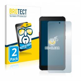 2x BROTECTHD-Clear Screen Protector Samsung Galaxy Xcover 5