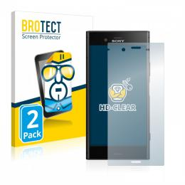 2x BROTECTHD-Clear Screen Protector Sony Xperia XZ1